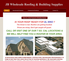 Jb Wholesale Roofing S Competitors Revenue Number Of Employees Funding Acquisitions News Owler Company Profile