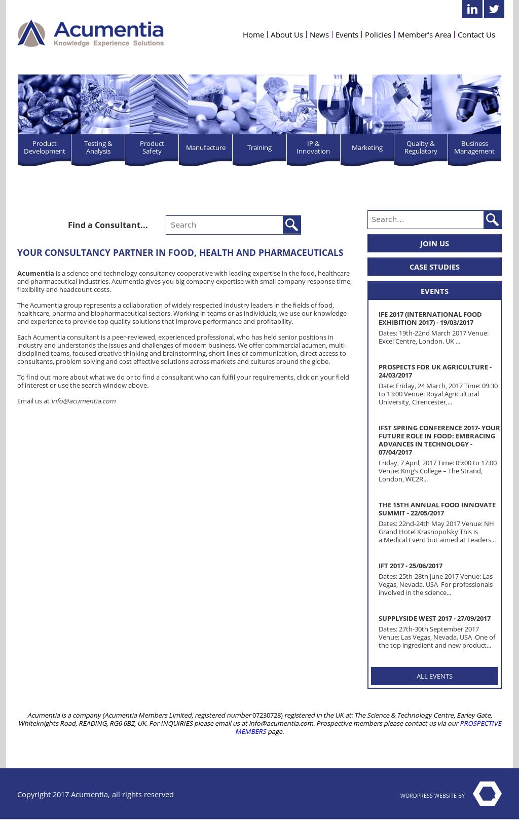 Acumentia Competitors, Revenue and Employees - Owler Company Profile