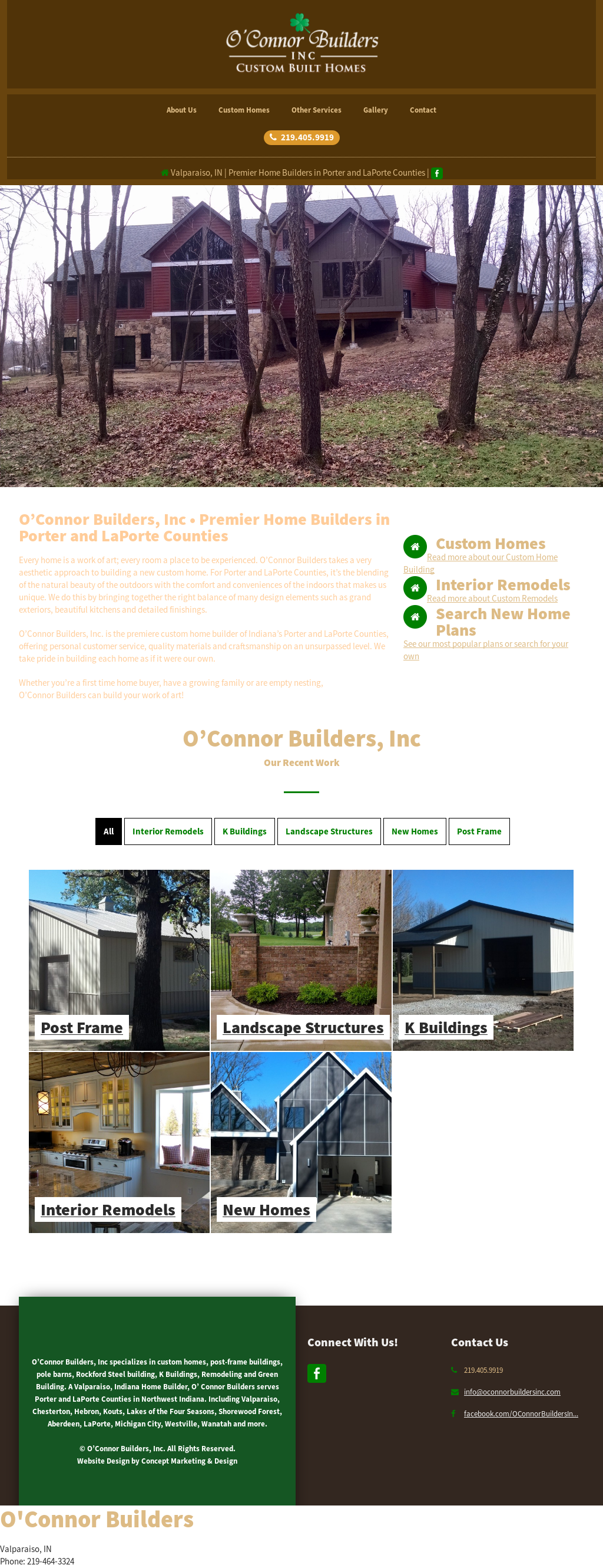 O 39 connor builders competitors revenue and employees for Companies that build homes
