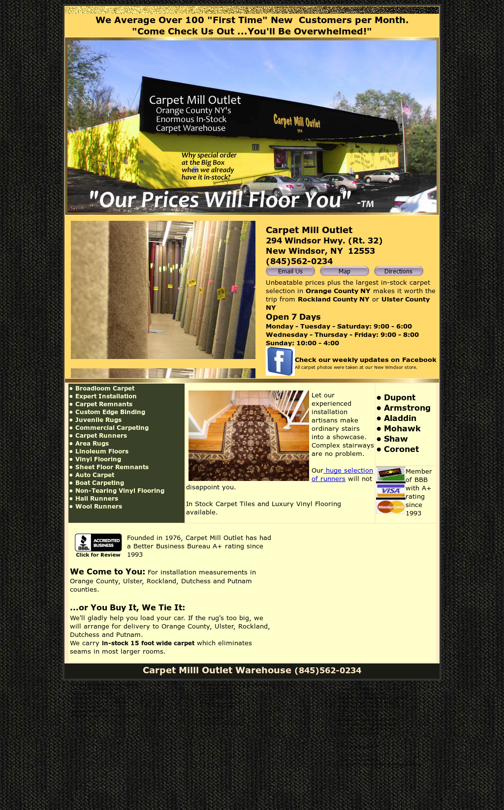 Carpet Mill Outlet New Windsor Ny Competitors Revenue And Employees Owler Company Profile