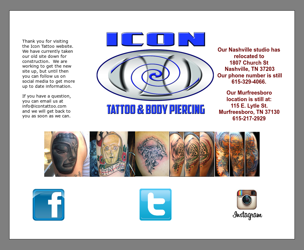 Icon Tattoo Competitors, Revenue and Employees - Owler