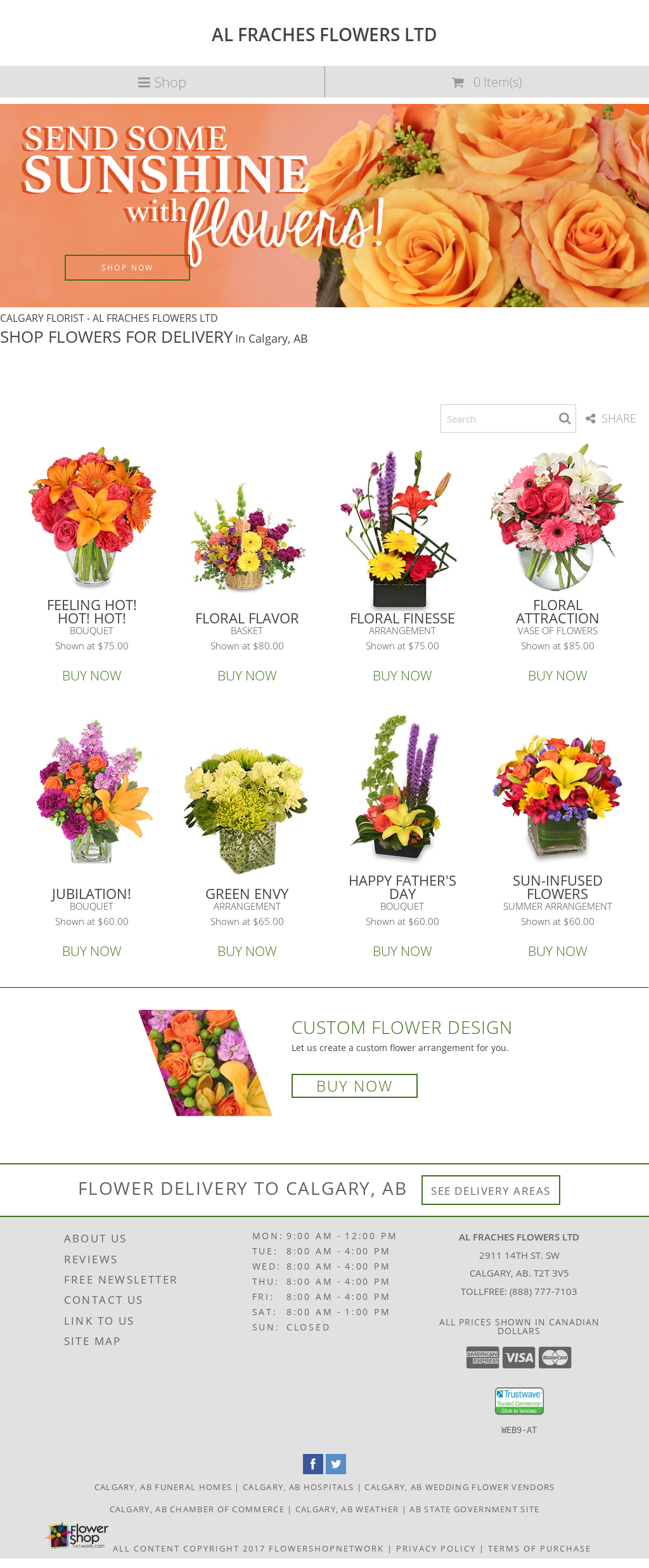 Al fraches flowers calgary competitors revenue and employees al fraches flowers calgary website history izmirmasajfo