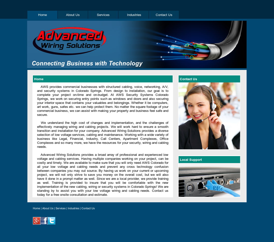 Advanced Wiring Solutions - Colorado Compeors, Revenue ... on