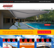 Great King Awnings Website History