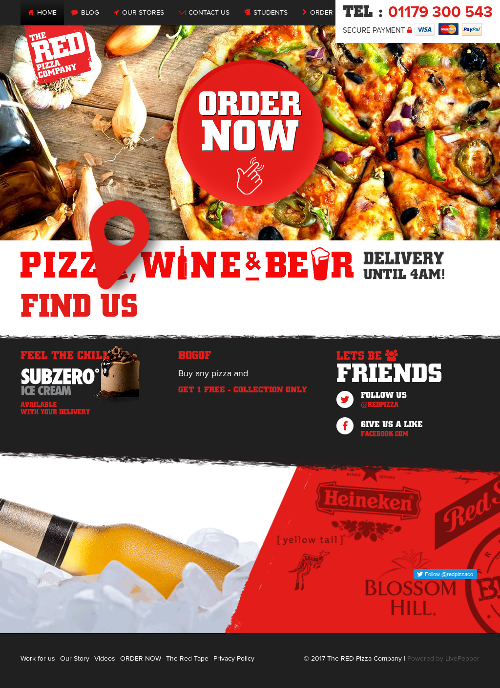 The Red Pizza Company Competitors Revenue And Employees