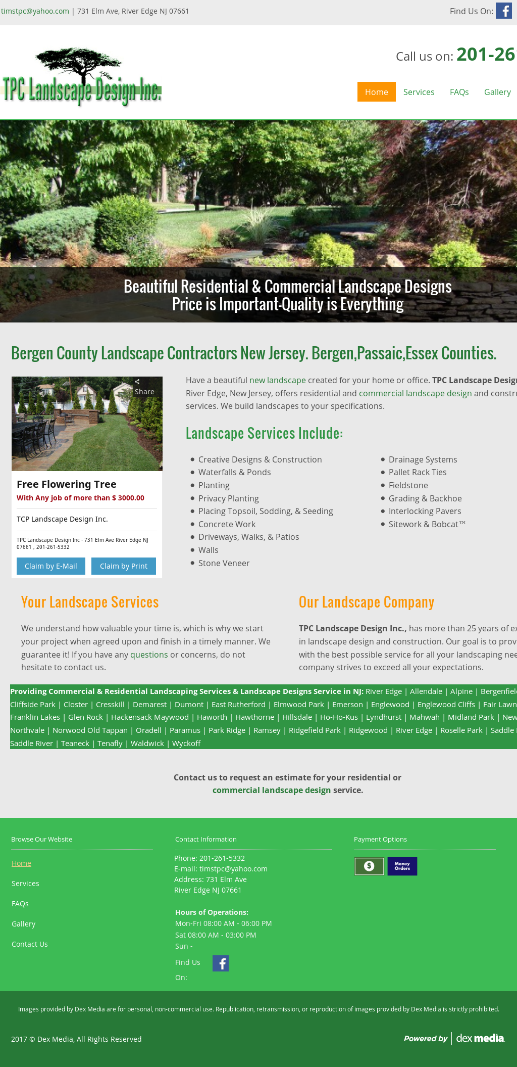 Tpc landscape design competitors revenue and employees for Landscape design site