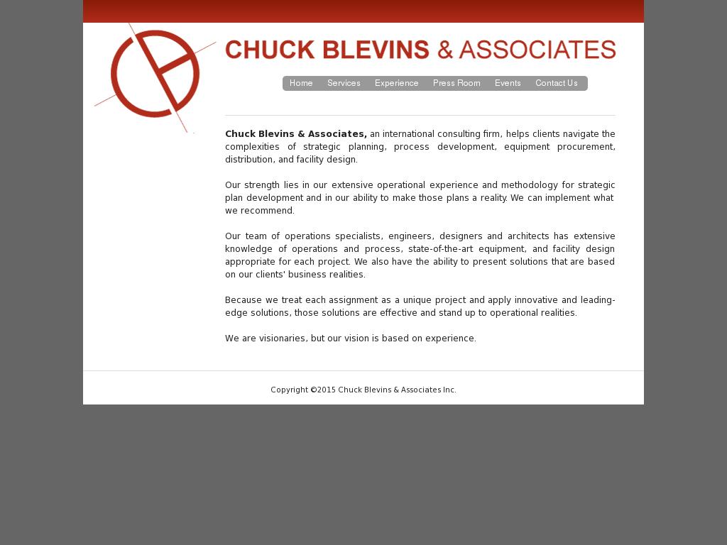 Chuck Blevins & Associates Competitors, Revenue and