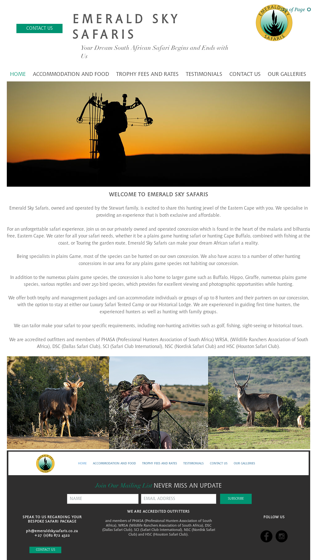 Emerald Sky Safaris Competitors, Revenue and Employees
