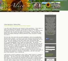 Aliceu0027s Garden Website History