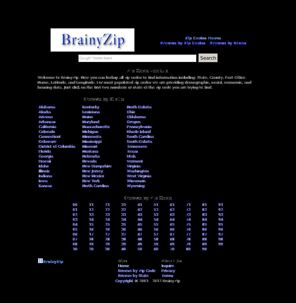 Brainy zip