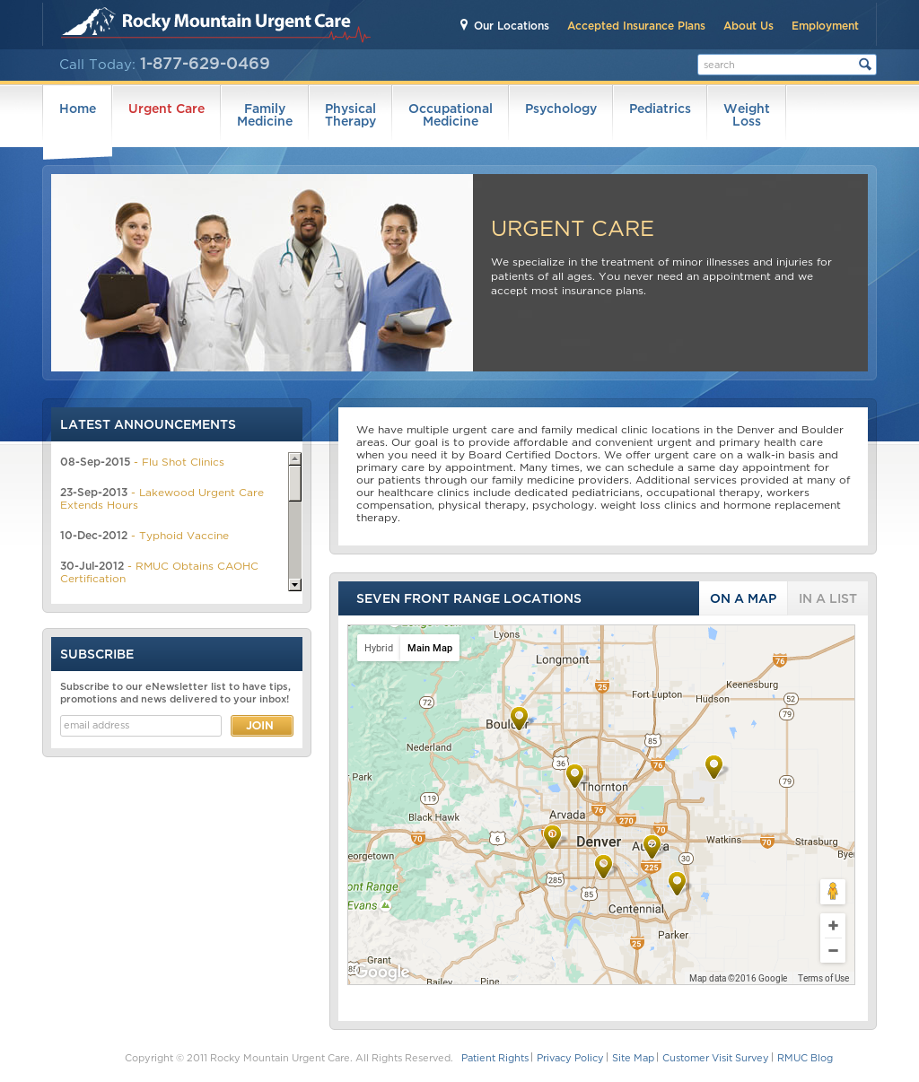 Rocky Mountain Urgent Care Competitors Revenue And Employees
