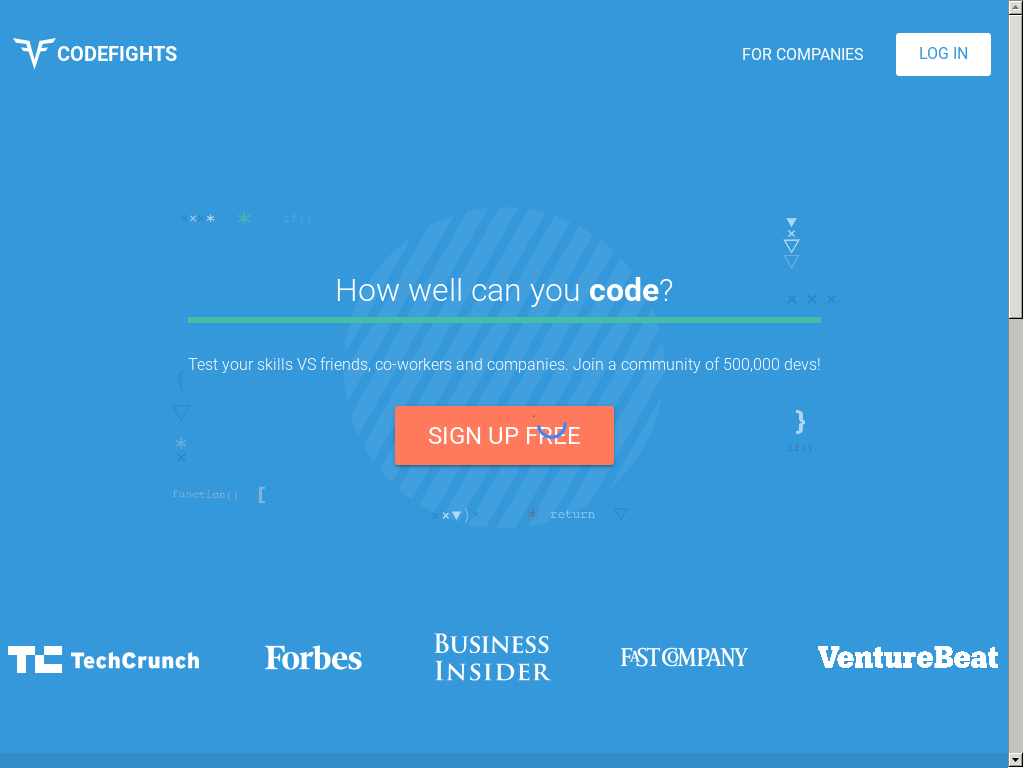CodeFights Competitors, Revenue and Employees - Owler