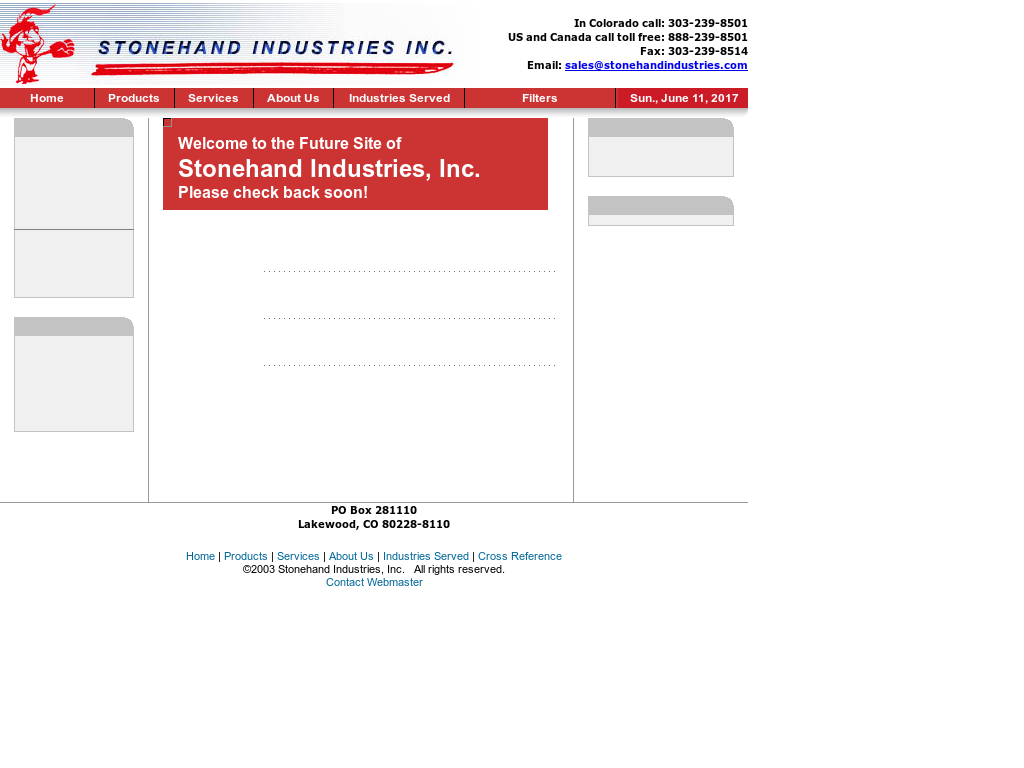 Stonehand Industries Competitors, Revenue and Employees - Owler