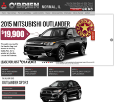 Ou0027brien Mitsubishi Normal Website History