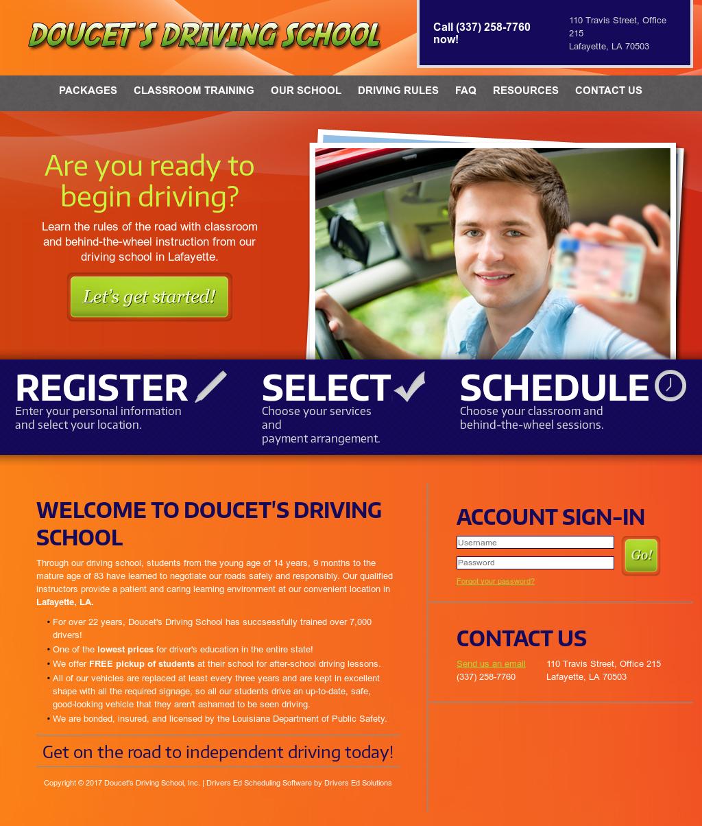 drivers ed courses lafayette la