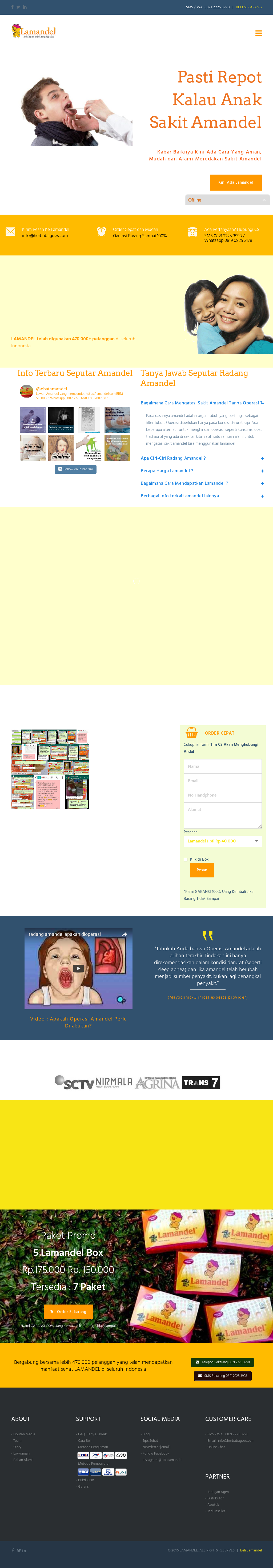 Lamandel Competitors Revenue And Employees Owler Company Profile Obat Amandel Website History