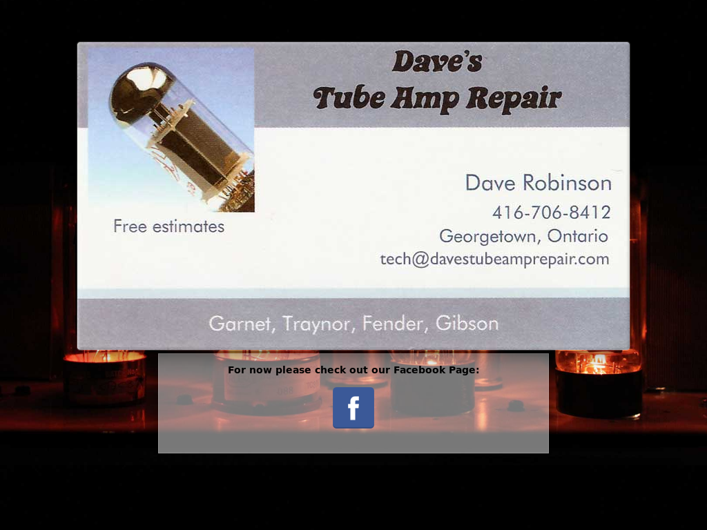 Dave's Tube Amp Repair Competitors, Revenue and Employees