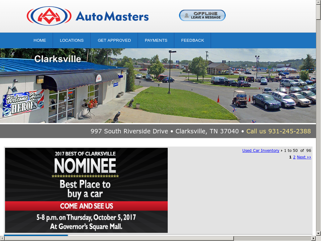 Auto Masters Of Clarksville Competitors Revenue And Employees