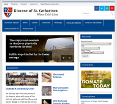 catharines Diocese of st