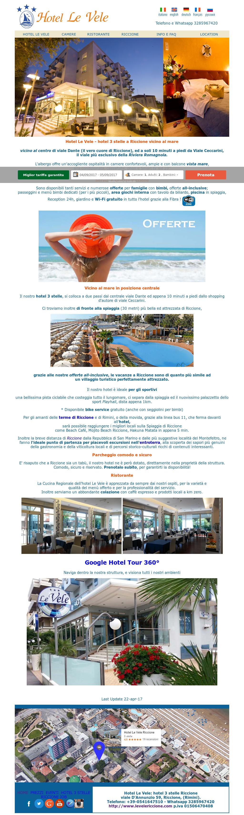 Hotel Le Vele Riccione Competitors, Revenue and Employees - Owler ...