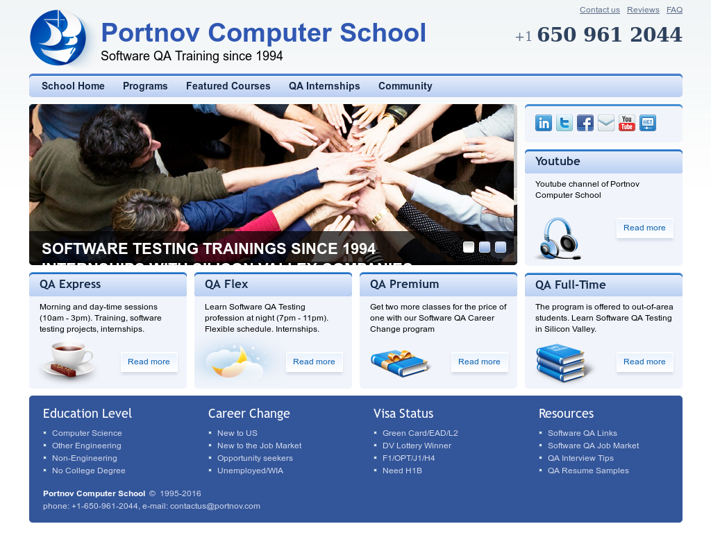 Portnov Computer School Competitors, Revenue and Employees