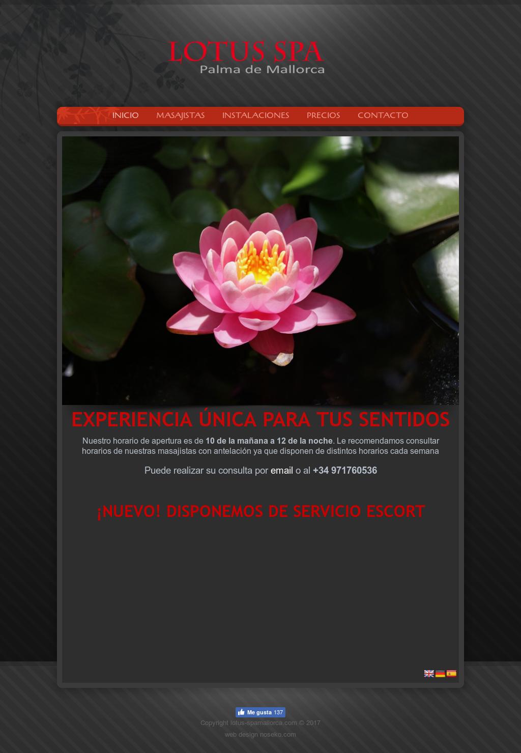 Lotus spa mallorca competitors revenue and employees owler lotus spa mallorca website history izmirmasajfo Gallery