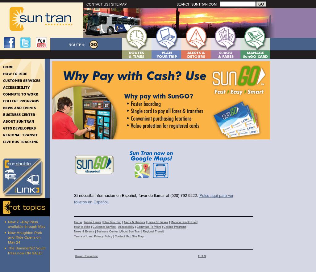 Sun Tran Competitors, Revenue and Employees - Owler Company Profile