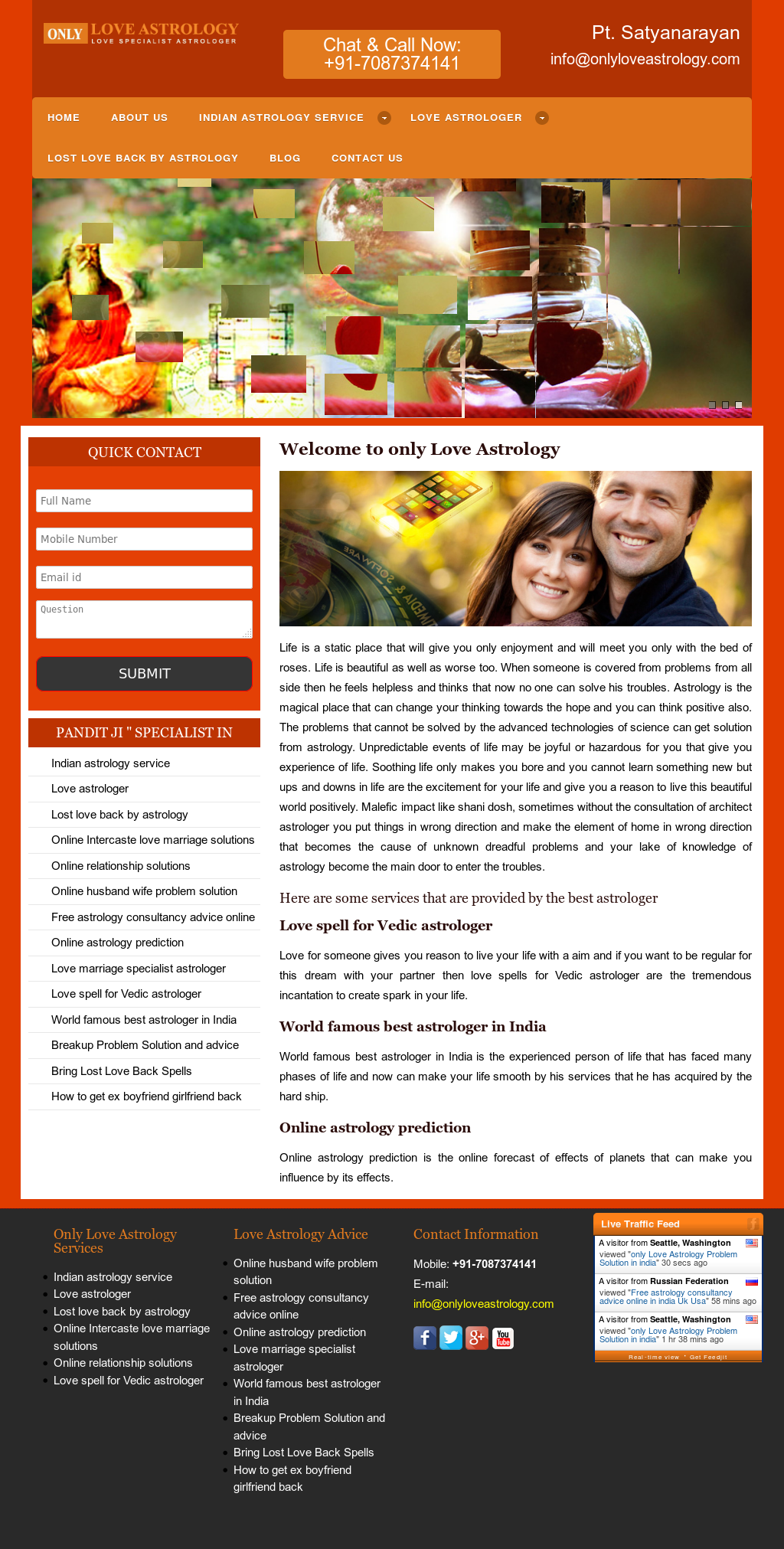 Onlyloveastrology Competitors, Revenue and Employees - Owler Company