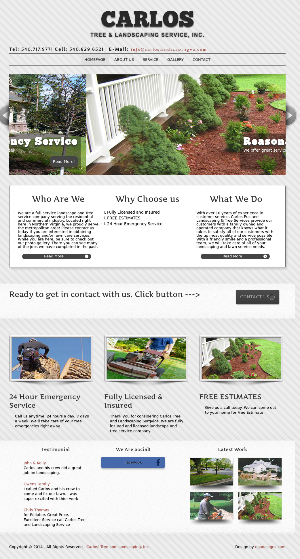 Carlosu0027 Tree And Landscaping Competitors, Revenue And Employees   Owler  Company Profile