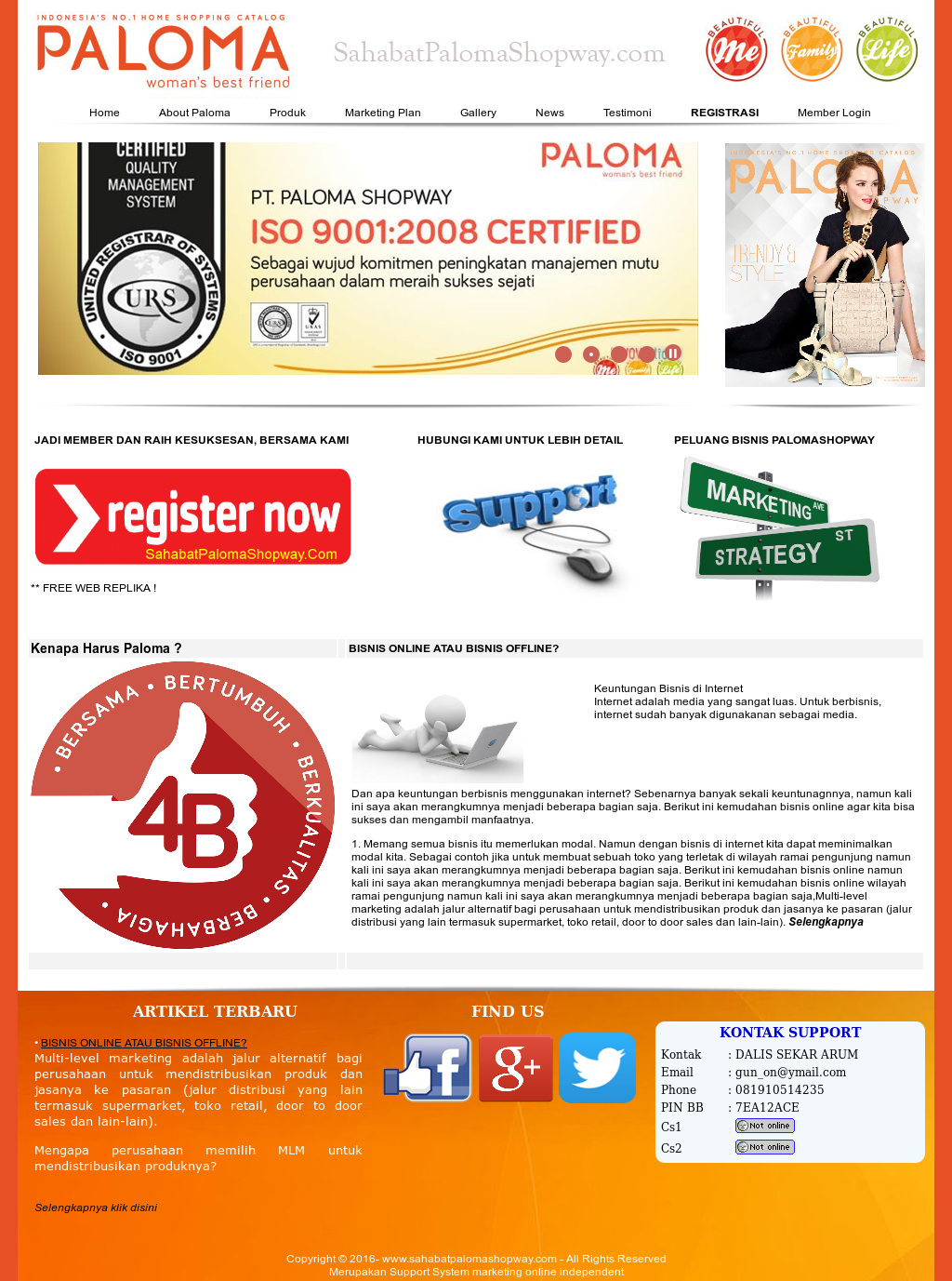Poster Bisnis Online