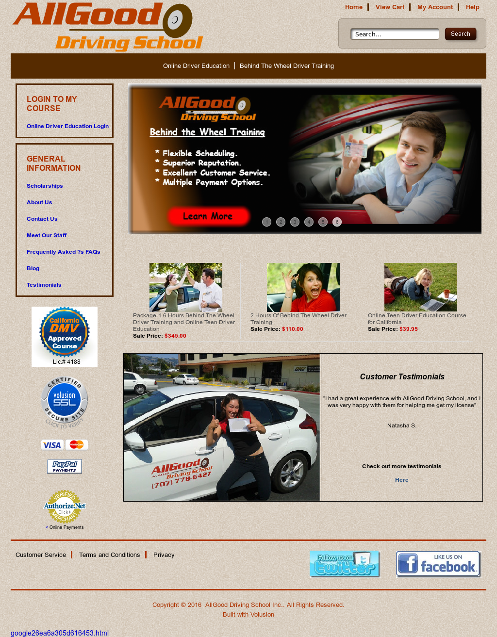 AllGood Driving School Competitors, Revenue and Employees