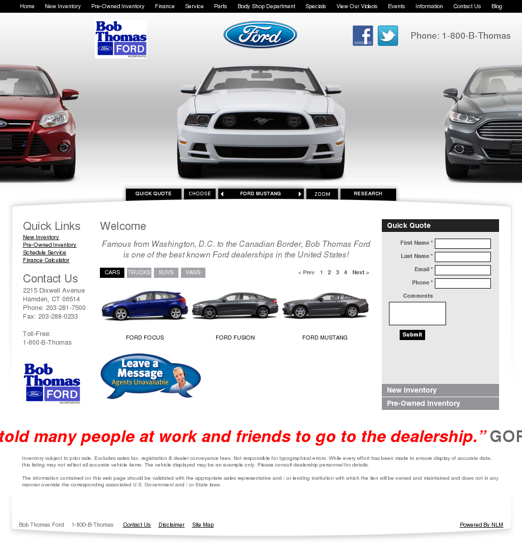 Havill Spoerl Ford >> Bob Thomas Ford Competitors Revenue And Employees Owler