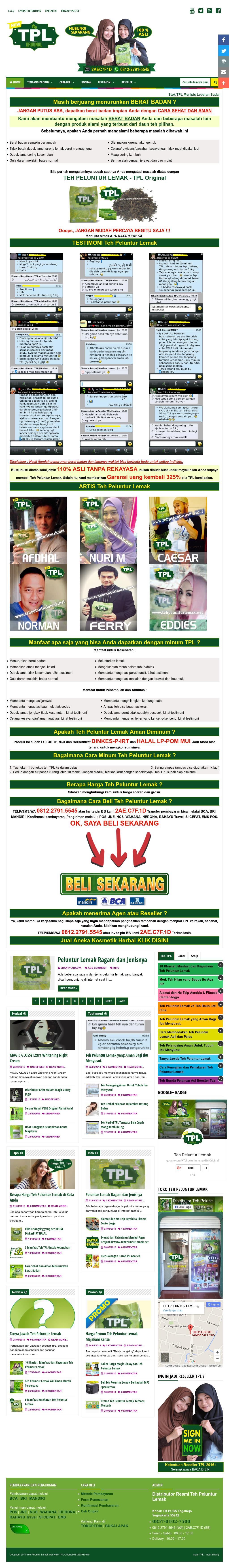 Distributor Teh Peluntur Lemak Original Competitors Revenue And Tpl Employees Owler Company Profile