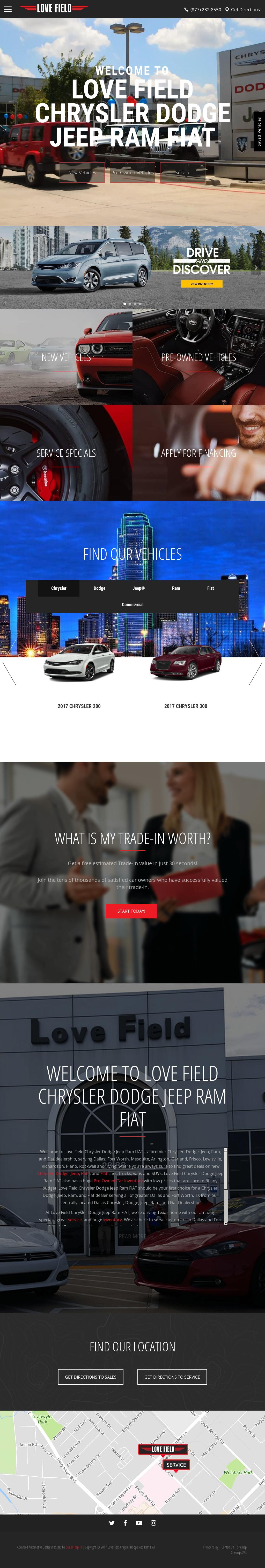 Great Love Field Chrysler Dodge Jeep Ramu0027s Website Screenshot On Sep 2017