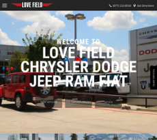 Love Field Chrysler Dodge Jeep Ramu0027s Website Screenshot On Sep 2017