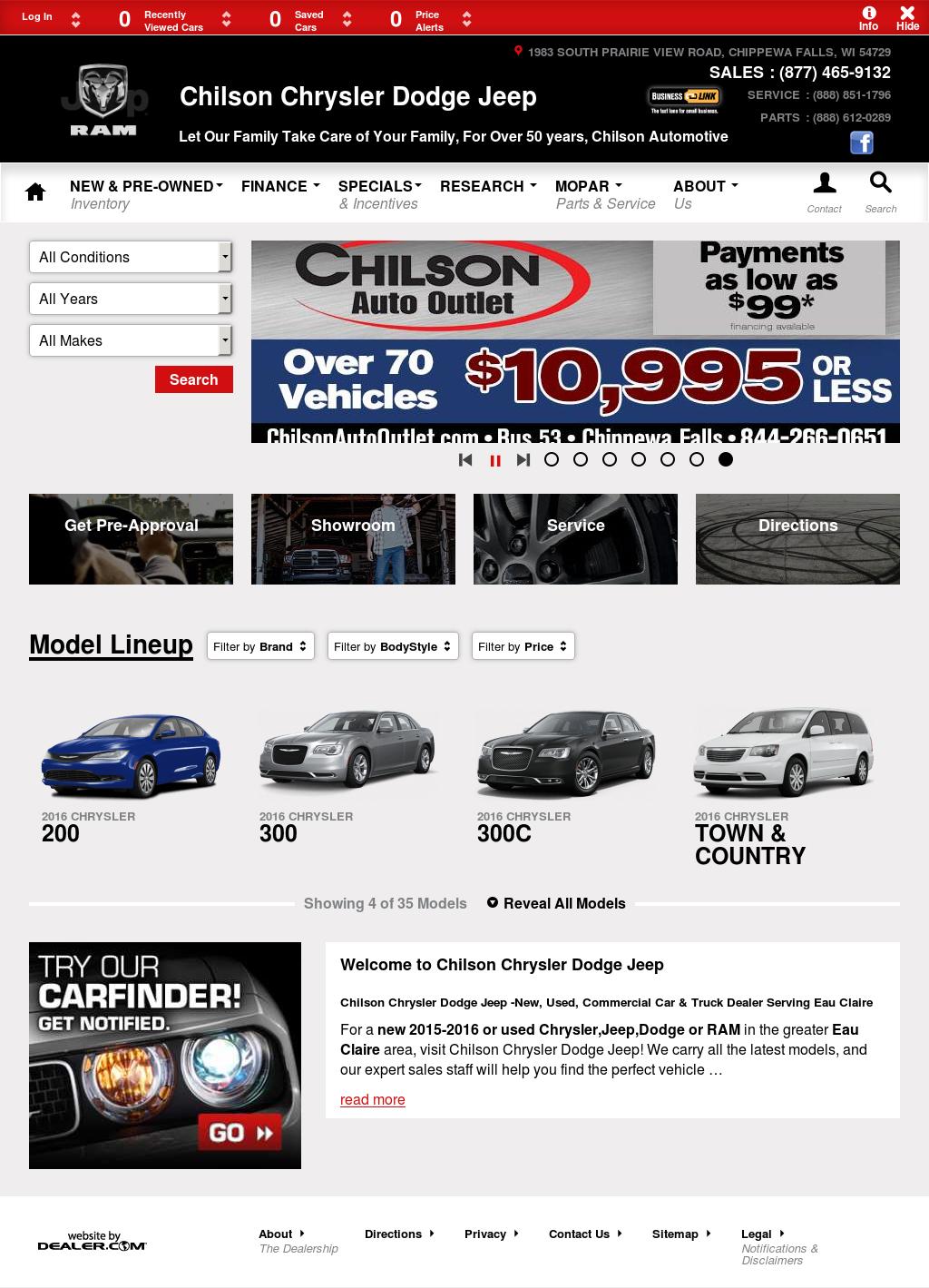 Chilson motors for Chilson motors in chippewa falls