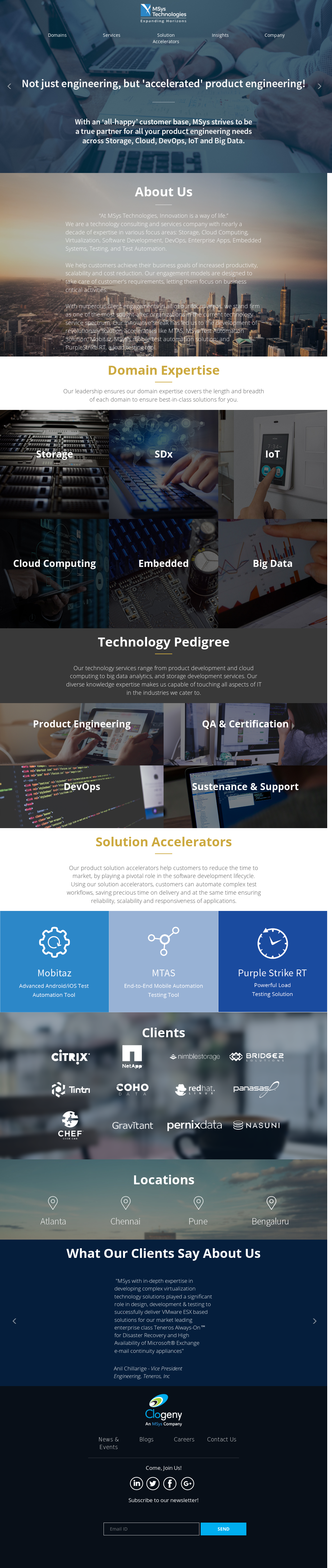 MSys Technologies Competitors, Revenue and Employees - Owler Company
