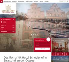 Hotel Scheelehof Stralsund Competitors, Revenue and