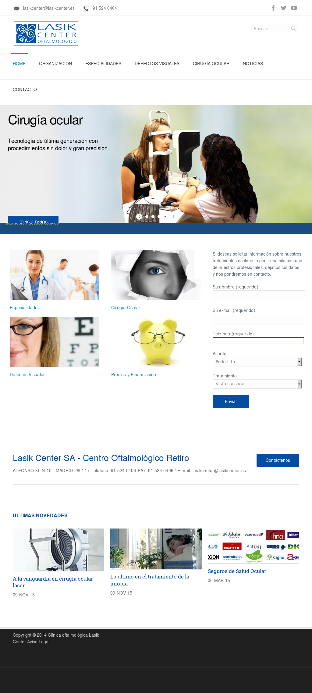 Lasik Center Competitors Revenue And Employees Owler