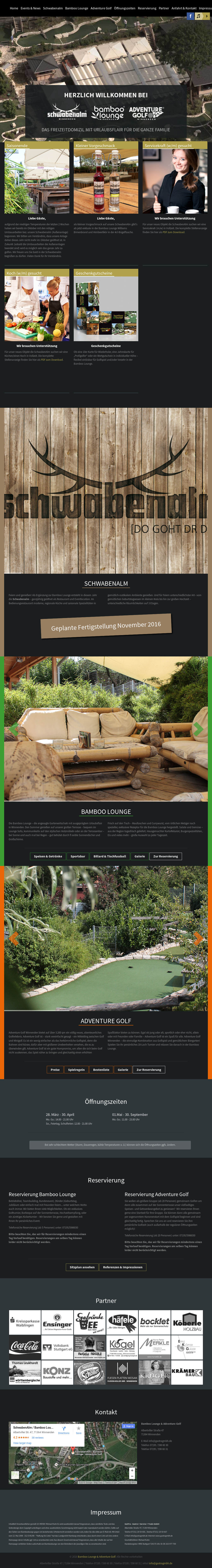 Bamboo Lounge Adventure Golf Winnenden Competitors Revenue And