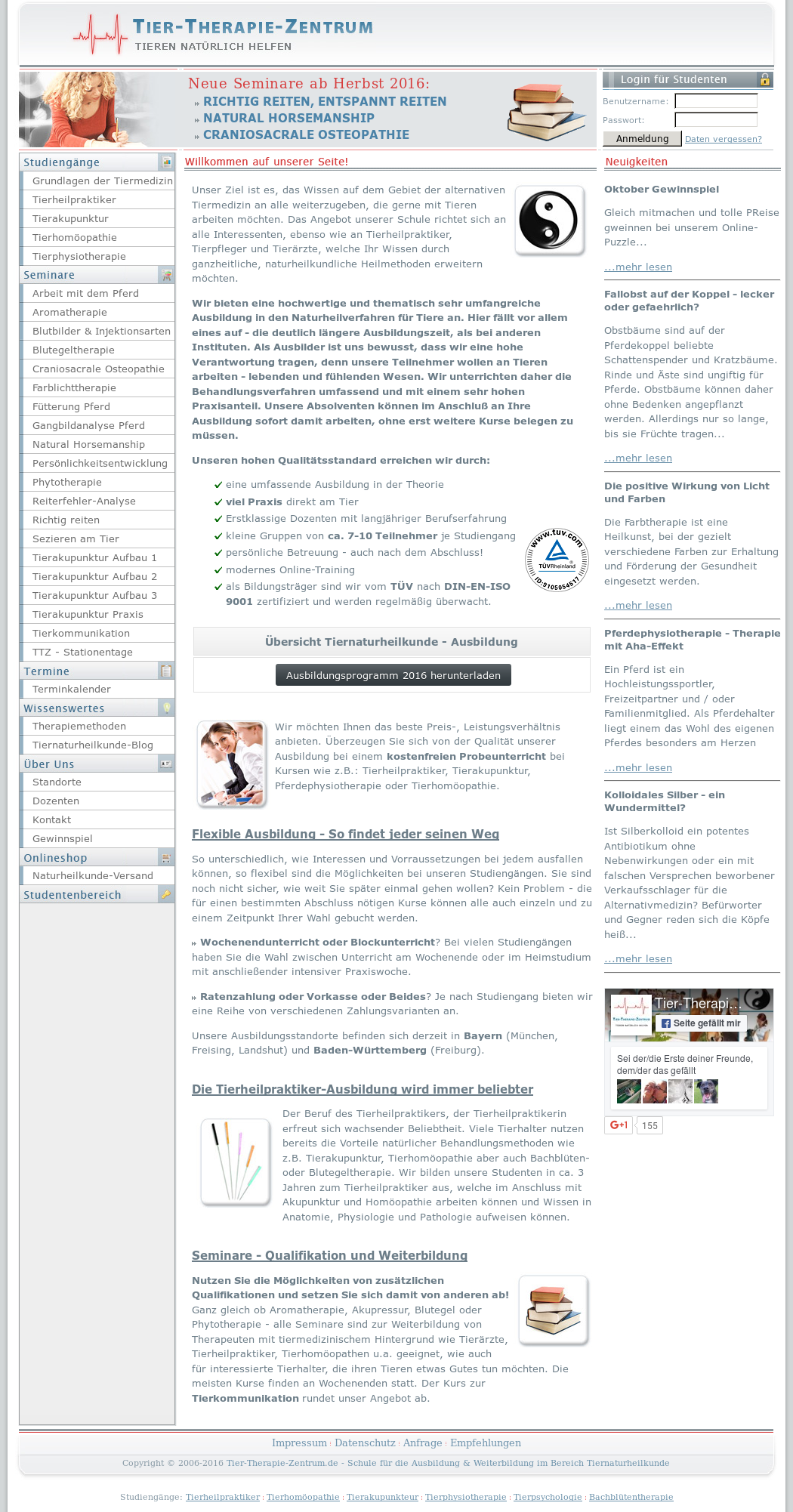Tier-therapie-zentrum Competitors, Revenue and Employees - Owler ...