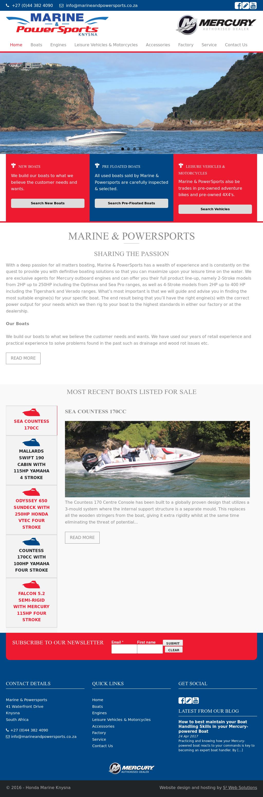 Honda Marine Knysna Competitors Revenue And Employees Owler