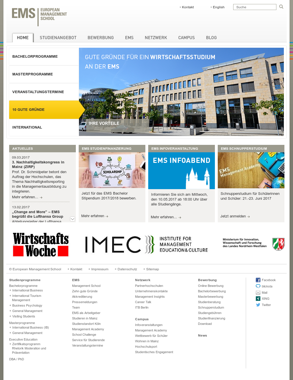 european management school competitors revenue and employees owler company profile - Be Lufthansacom Bewerbung