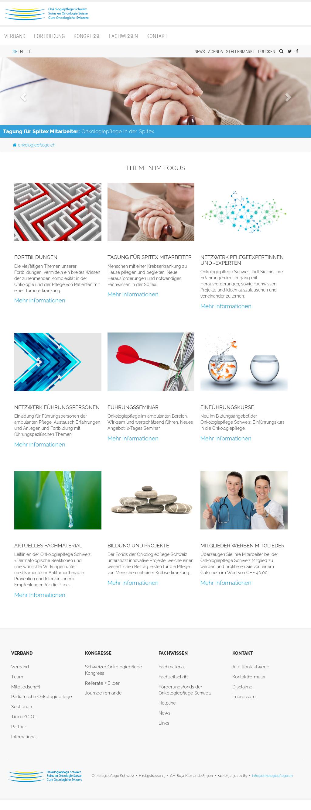 Onkologiepflege Schweiz Competitors, Revenue and Employees - Owler ...