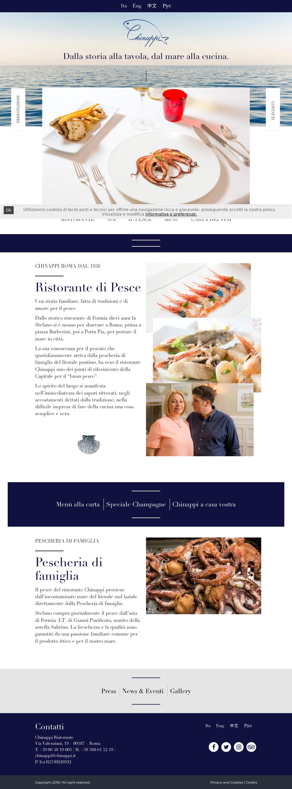 Accostamenti In Cucina ristorante chinappi roma competitors, revenue and employees