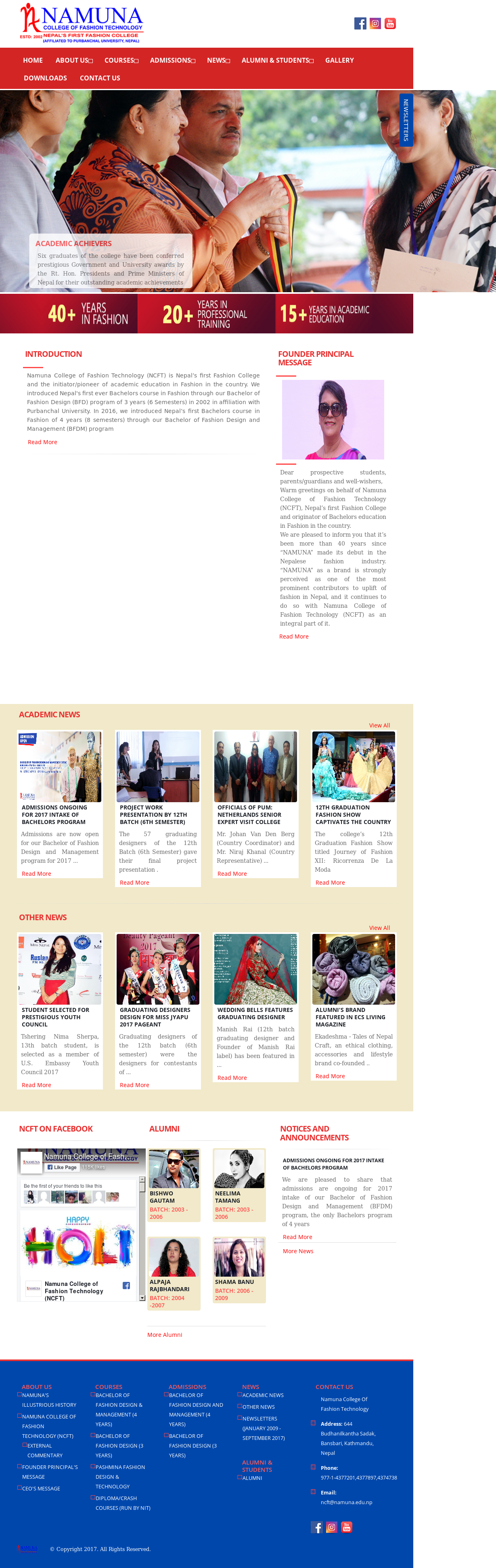 Namuna College Of Fashion Technology Competitors Revenue And Employees Owler Company Profile
