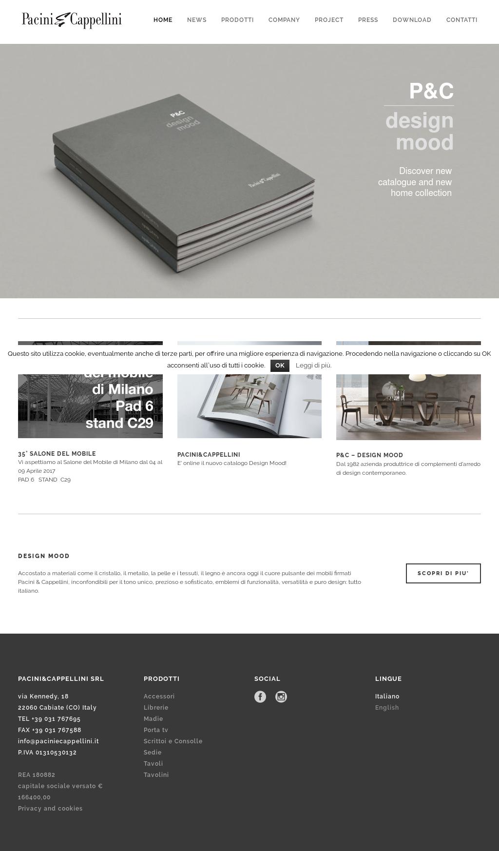 Porta Tv Cristallo Design.Pacini Cappellini Srl Competitors Revenue And Employees Owler
