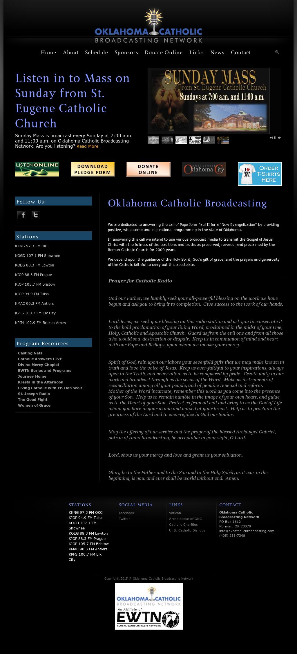 Oklahoma Catholic Broadcasting Network Competitors, Revenue