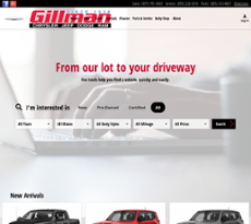 Gillman Chrysler Jeep Dodge Ram Of Houston Website History