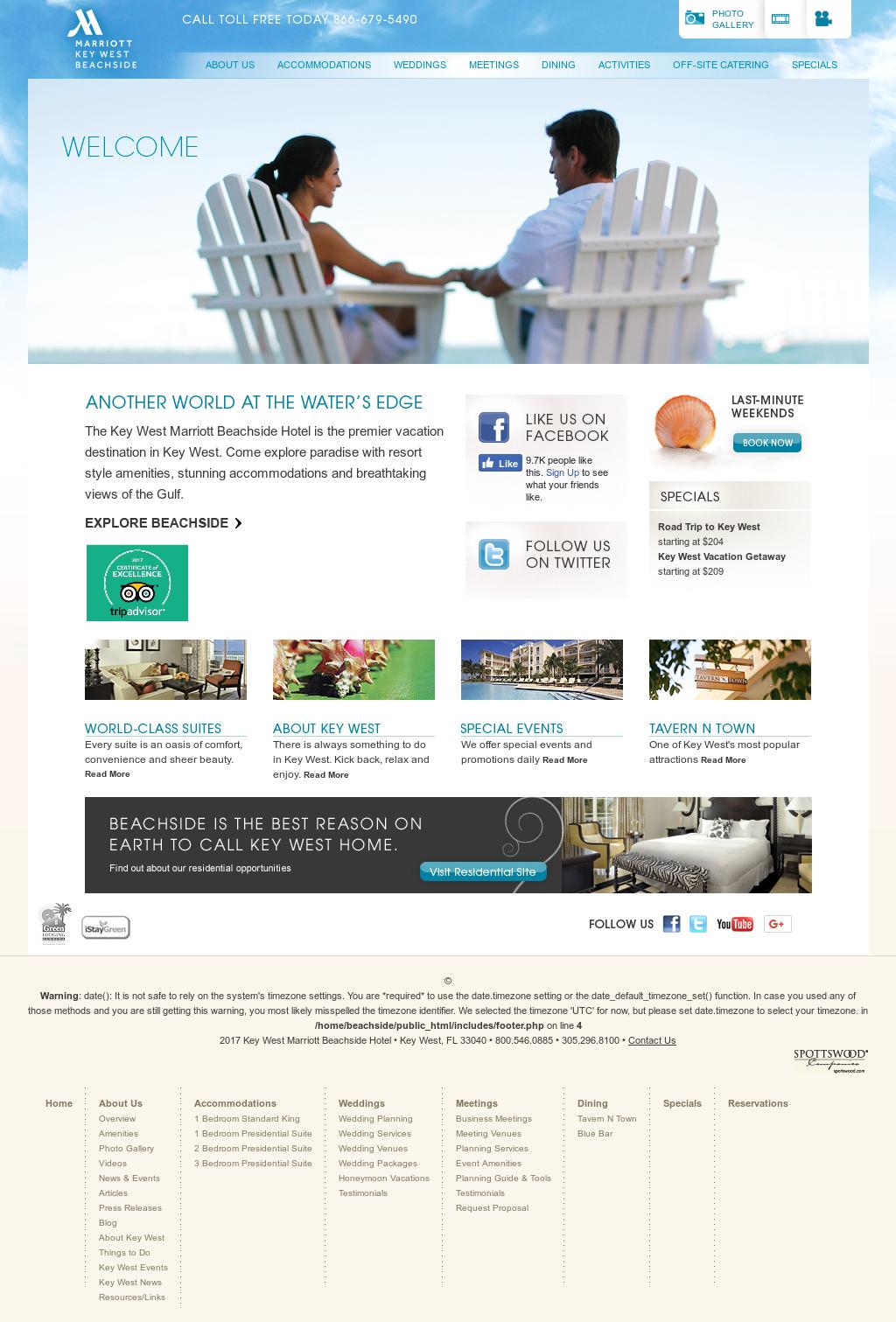 Key West Marriott 3 Bedroom Presidential Suite